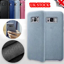 Shockproof Alcantara Suede Leather Case Cover For Samsung Galaxy S9 S8 Note8 UK