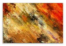 Abstract Canvas Background Gold Red  Landscape Canvas Wall Art Picture Home Deco