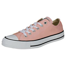 Converse Chuck Taylor All Star Ox Womens Pink White Canvas Trainers