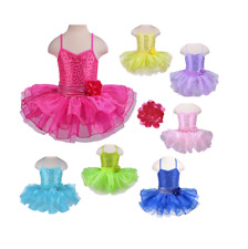 Brand New Child Girls Ballet Dancewear Dress Training Dance Tutu Leotard Costume