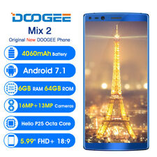 Doogee Mix 2 5.99 Inch FHD 18:9 Octa Core Mobile Phone Andorid 7.1 6GB RAM 64GB