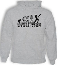 Cricket Evolution Hombre Divertido Cricketing Sudadera con Capucha Cricket Test