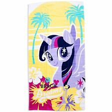 Kids Girls My Little Pony Crush Printed Towel Children Yellow Beach Bath Towel