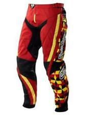 Pantaloni motocross Donna Troy Lee Designs 2011 GP Rosso