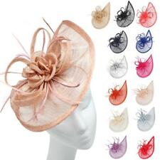 Large Headband and Clip Hat Fascinator Weddings Party Race Royal Ascot