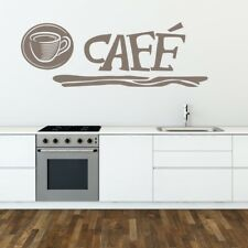 CAFE wall sticker kitchen stickers quote decal food home vinyl coffee transfer