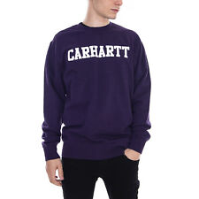 Carhartt Felpe College Sweatshirt Lakers / White Viola