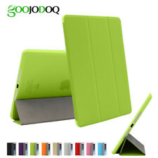 For iPad Air 2 Air 1 Case Cover with Stand, Ultra Thin PU Leather+Silicone Soft