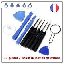 KIT OUTILS TOURNEVIS IPHONE DEMONTAGE REPARATION - 11 PCES
