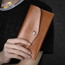 Wallet Cases Women Leather Purse For Huawei P20 Phone Pouch Brown Black Cover