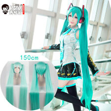HSIU High Quality VOCALOID Cosplay Wig Hatsune Miku Costume Play Wigs Halloween