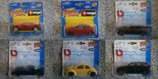 BURAGO - Chevrolet, Nissan, Peugeot, BMW, VW - 1:43 NEW