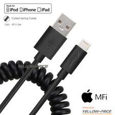High Quality Coiled Lightning Cable for iPhone iPad Car Apple MFI Certified New
