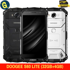 """DOOGEE S60 Lite 5.2"""" 4GB+32GB 4G NFC Triple Proofing Rugged Android SmartPhone"""