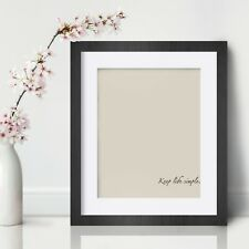 Keep life simple Inspirational Wall Art Print Motivational Quote Poster Decor