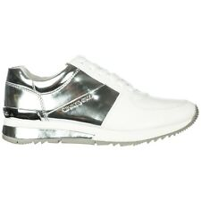 MICHAEL KORS SCARPE SNEAKERS DONNA IN PELLE NUOVE BIANCO 473