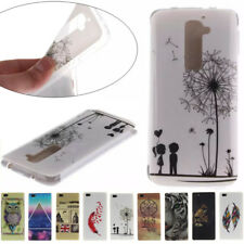 3D Cartoon TPU Silicone Gel Case Cover sFor LG G2 D801 D802 D805 Ultra Thin