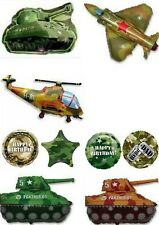 Army Military Camo Camouflage Balloons Party Ware Decoration Novelty Gift Helium