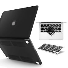 2in1 Rubberized Hard Case Cover and Keyboard Cover For MacBook 2018 2017 2016