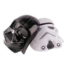 Black White Star Wars Darth Vader Full Face Mask Deluxe Halloween Superhero