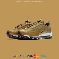 ALL SIZES NIKE AIR MAX 97 METALLIC GOLD OG ITALY