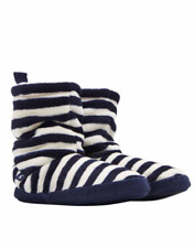 Joules Homestead Donna Foderato in Pile Calze Pantofola - Francese Navy a
