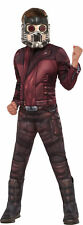 Deluxe Guardians Of The Galaxy Vol. 2 Star-Lord Peter Quill Kids Costume SM-LG