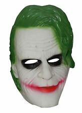 Adult Rubber Green Hair Horror Mask Unisex Halloween Fancy Party Wear Accessory