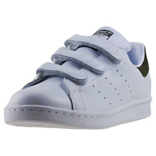 adidas Stan Smith Cf Mens White Olive Leather Trainers