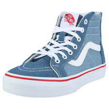 Vans Sk8-hi Zip Kids Denim Cotton Trainers