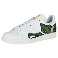 adidas Stan Smith W Womens White Tropical Leather Trainers