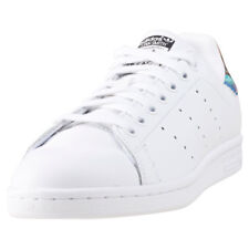 adidas Stan Smith Mujeres White Multicolour Cuero Zapatillas
