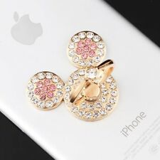 Universal 360 Rotating Finger Ring Stand Holder For Cell Phone - CRYSTAL MICKEY