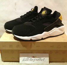 NIKE HUARACHE LE BLACK TOUR YELLOW Sz US UK 7 8 9 10 11 12 13 OG 2013 318429-007