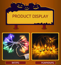 LED Fairy String Lights Of Halloween decoration Battery Operated pumpkin Skull