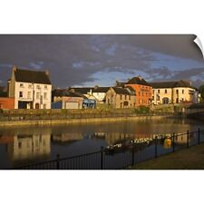 Wall Decal entitled John's Quay and River Nore, Kilkenny City, County Kilkenny,
