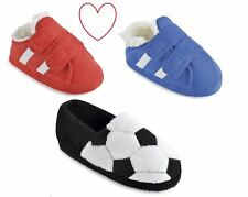 Football Slippers Childrens Girls Boys House Shoes Gift Christmas