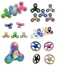 Fidget Main Spinner Anti Ads Adhs Edc Peur Stress Doigt Toupie Arc en Ciel Top