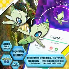 Celebi Capture Boost - A Ripple in Time 8/8 - Quest & Stamp - Pokemon GO Service