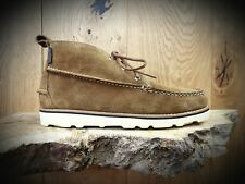 G H Bass & Co // Ranger Wedge // Mens Tan Suede Boots // NEW!!!