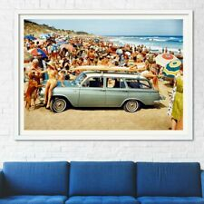 """1964 EH HOLDEN SPECIAL AD A4 CANVAS PRINT POSTER 11.7""""x8.3"""""""