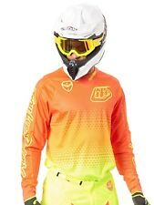 Casacca MX Troy Lee Designs 2017 SE Air Starburst Fluorescent Giallo-Arancio