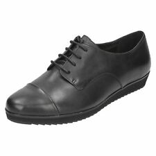 Clarks Ladies Casual Lace Up Shoes Compass Fayre