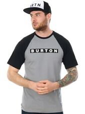 T-Shirt raglan Burton Vault Grigio Heather