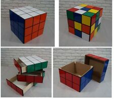 "RUBIK'S CUBE 50cm / 20"" storage unit, BOX, cabinet drawers, TOYS, coffee table"