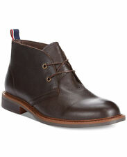 Tommy Hilfiger Men's Shoes Leather Ankle Boot Stoneham 2 Chukka Brown 8.5M,10M