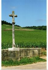 Poster Print Wall Art entitled The stone cross marking the Romanee Conti and