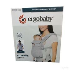 NEW! ERGOBABY OMNI 360 COOL BREATHABLE Ergo Baby Carrier Multi Position 5 COLORS