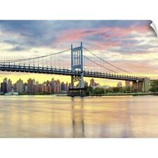 Wall Decal entitled Triboro Bridge taken from Astoria Queens NYC
