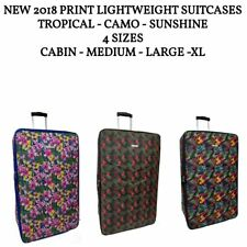 New Stylish 2018 Lightweight Luggage Trolley Suitcase Travel Bags Sets